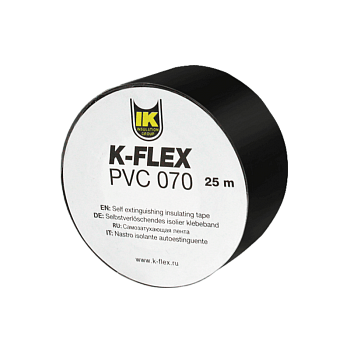 Лента PVC 50-25 AT 070 black K-FLEX